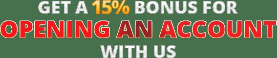 15 Percent Bonus